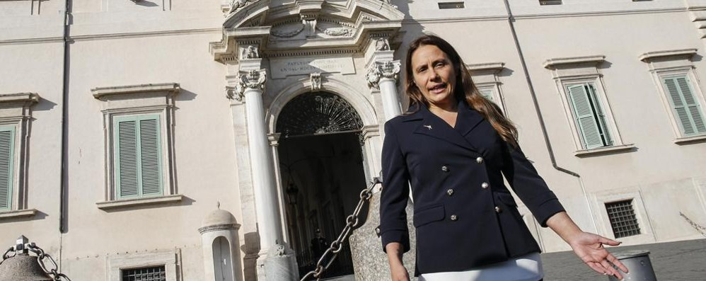 Alessandra: una carriera  politica a 200 all'ora