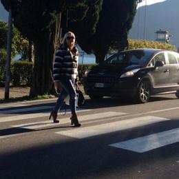 Cade dalla bici a Griante  Grave ciclista per un malore