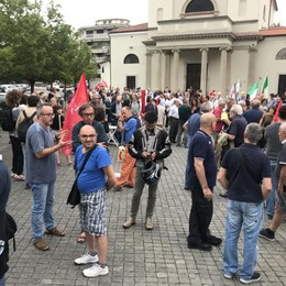 Erba, il presidio Anpi contro il podestà  «Non si può riscrivere la storia»