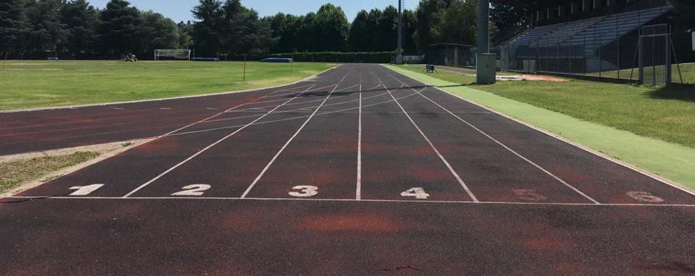 Pista d'atletica a Cantù: si parte  C'è il bando per ristrutturarla