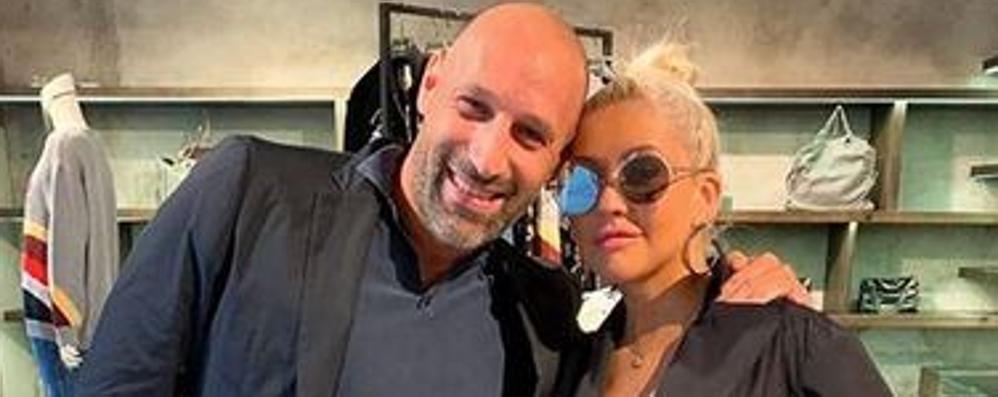 Aguilera sceglie Como    «Bene il turismo top  ma la città offra di più»
