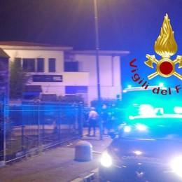 Incendio nella notte in un bar a Novedrate