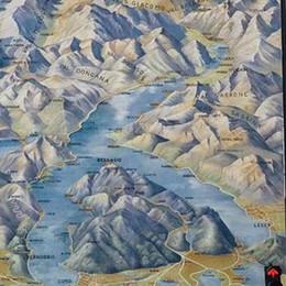 Strettoia di Cernobbio  Rinata l'antica mappa