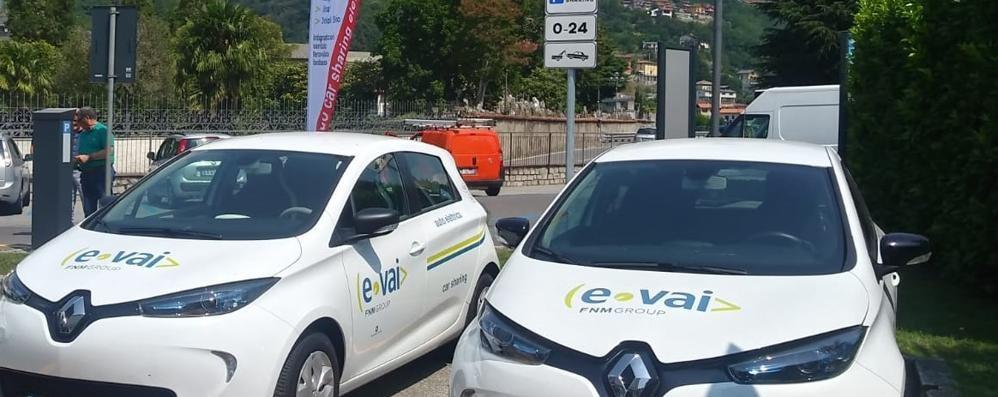 Auto elettriche per i turisti Domaso inaugura il car sharing