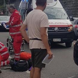 Domenica di incidenti  Motociclista di 91 anni  si scontra con un'auto