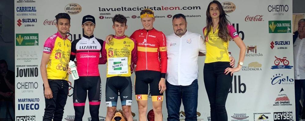 Fancellu re della Vuelta a León  «Una squadra spettacolare»