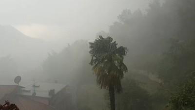 Laglio pioggia