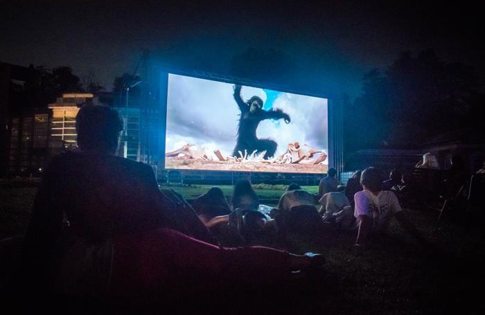 La  Lake Como Film Night a Villa Erba nel 2018