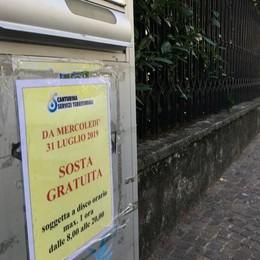 Effetto lavori in piazza Garibaldi  Cantù, un mese di parcheggi gratis