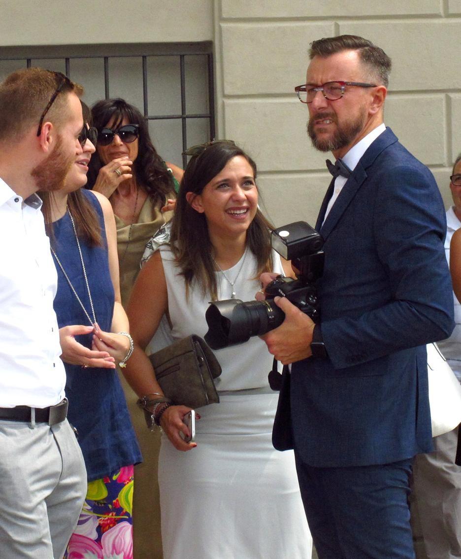 L'assessore Maurizio Cattaneo, invitato e fotografo ufficiale