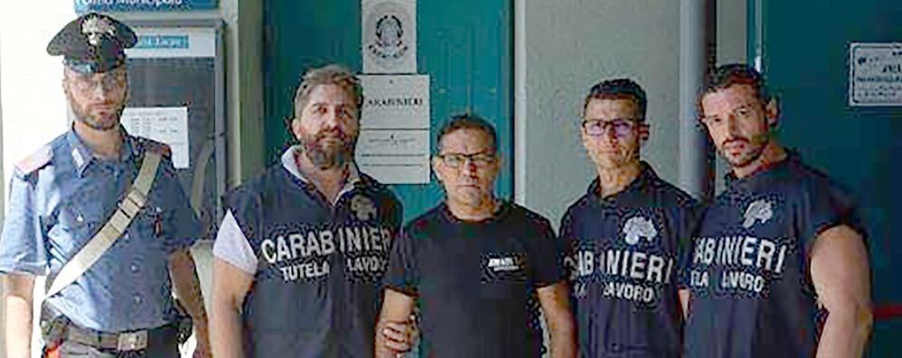 Caporalato a Inverigo  Sospesa l'attività di un'azienda