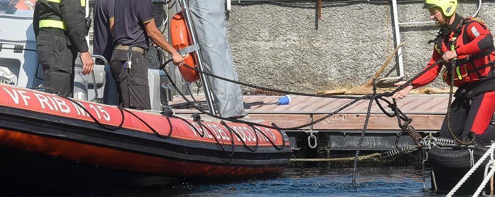 Maltempo improvviso Barche in difficoltà a Dongo