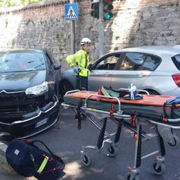 Olgiate, con l'auto contro l'albero  Ferito conducente di 92 anni