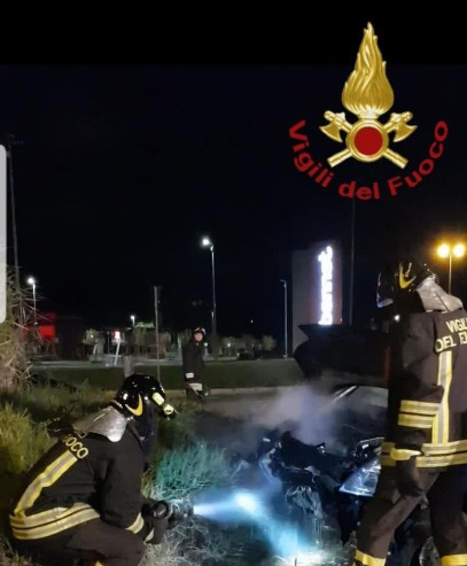 Un'altra immagine dei soccorsi