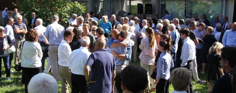 Tremezzina, l'omaggio a Tieghi  «Lascia un segno indelebile»