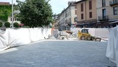 Cantù, piazza Garibaldi  «La riapertura già a fine mese»