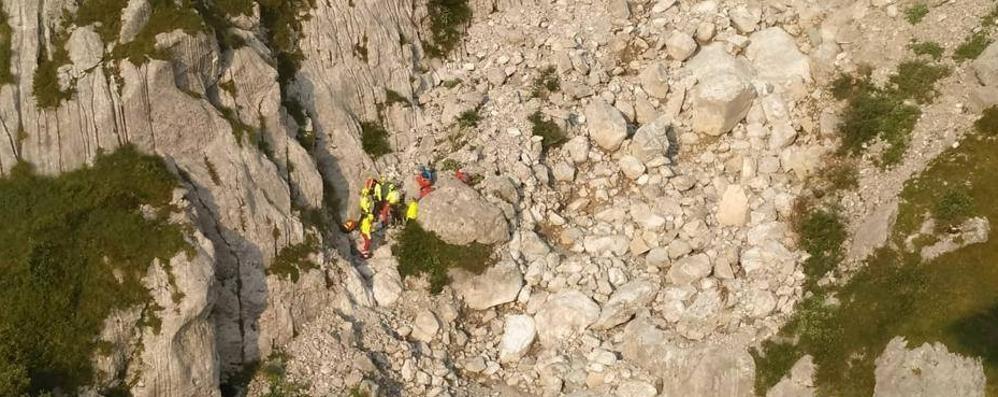 Precipita sui monti nel Bresciano Morto un alpinista canturino