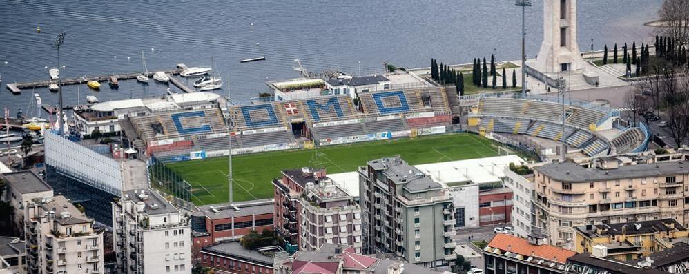 Incontro Comune-Calcio Como  «Perizia sullo stadio Sinigaglia»