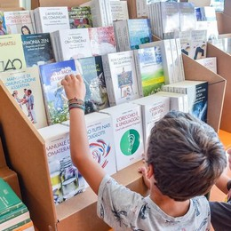 Tutta nuova la  Fiera del libro  Sotto il tendone  idee e autori