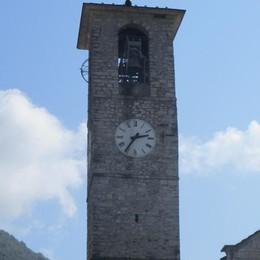 Fulmine sul campanile in Valle  Bancomat e televisori in tilt
