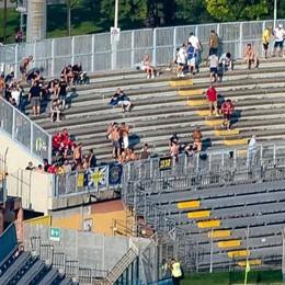 """I residenti perdono 250 posteggi   """"Colpa"""" di 70 tifosi in curva ospiti"""