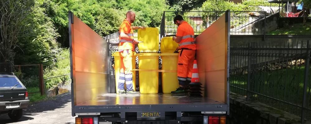 Tari alle stelle e stop alla discarica  A Brunate la protesta dei rifiuti