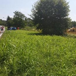 Due moto contro due auto Sette feriti a Cadorago