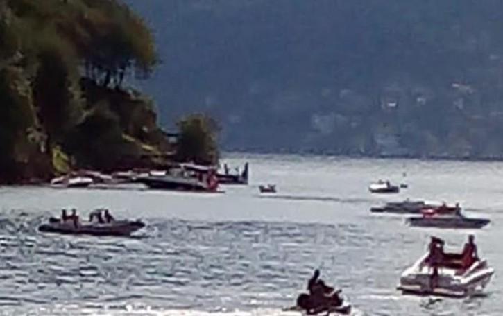 Barche troppo veloci,  protesta all'Isola