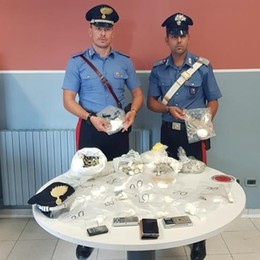 Cocaina e monete false  Arrestato a Cermenate