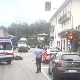 Senna, scontro sulla Canturina  Grave motociclista di 30 anni
