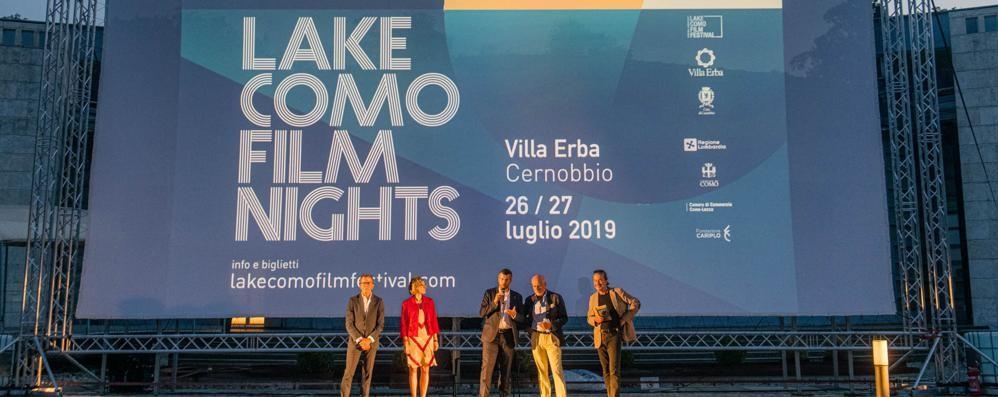 Villa Erba, il cinema di notte Solo all'alba il sogno svanisce