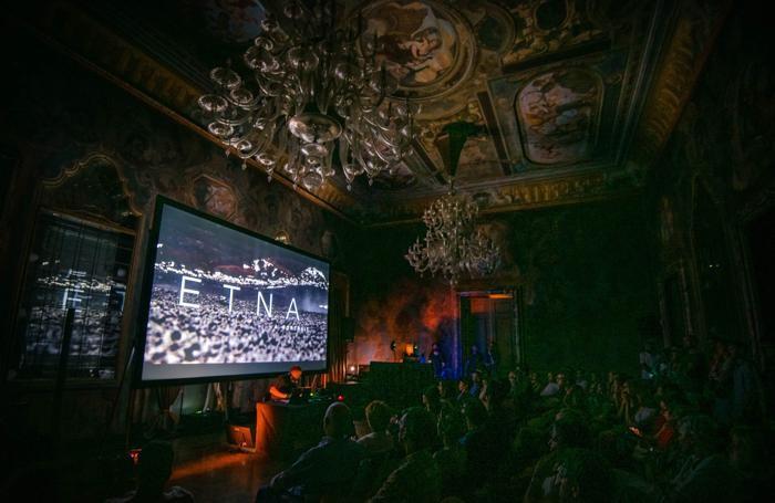 Lake Como Film Nights a villa Erba