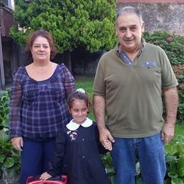 Olgiate, pesava 460 grammi  Ora Michela è felice  di andare a scuola