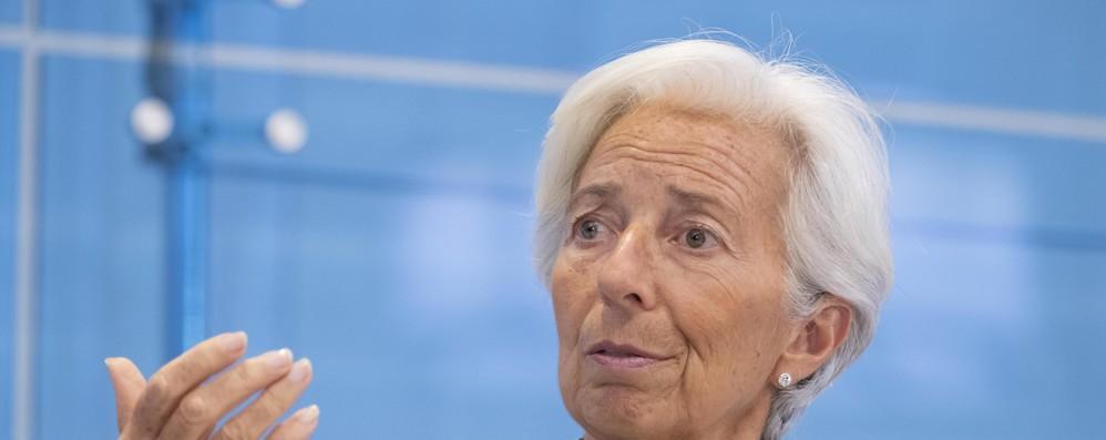 Lagarde, rischi per Eurozona nel breve termine