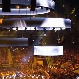 Canturino da fan a protagonista  Allo show Usa dei Metallica