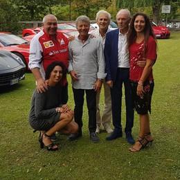 Ferrari Club Como, festa  nel nome di Leclerc