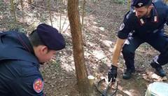 Droga nei boschi di Montano  Spacciatore fermato dai carabinieri
