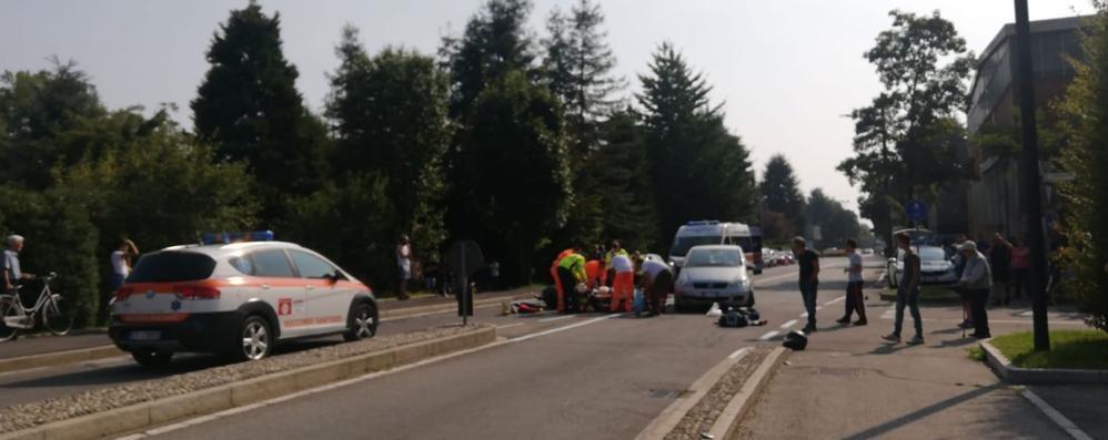 Incidente a Mariano  Muore motociclista di Giussano