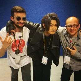La radio sul Giappone  creata da due comaschi