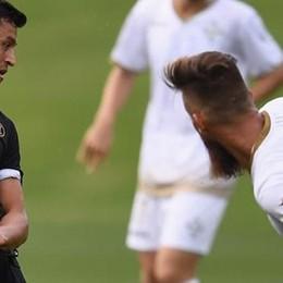 Como, test segreto con l'Inter  In vantaggio, poi perde 3-1