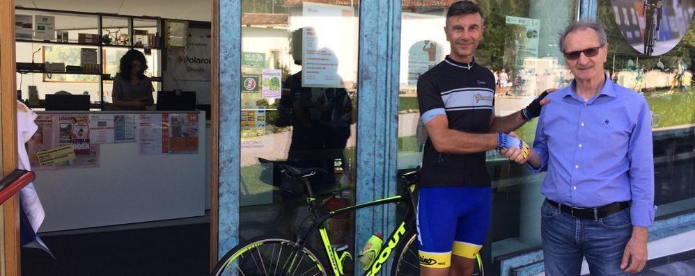 Dalle salite di Pantani al Ghisallo Con la maglia del Cc Canturino