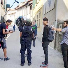 Cadorago, il paese come un set  «Un giorno da attori pieno di emozioni»