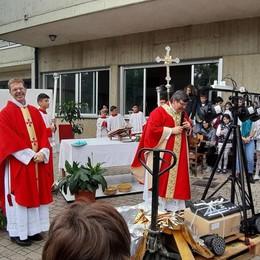 Guanzate, parrocchia in festa  per l'arrivo del nuovo vicario