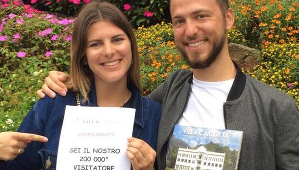 Il boom di Villa Carlotta: +2,5% Francesi i visitatori numero 200mila