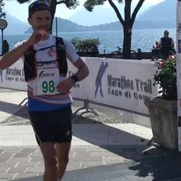 Il Trail lago di Como Spaggiari vince in casa