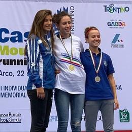 Pastorelli, quinto posto d'oro: è campionessa italiana