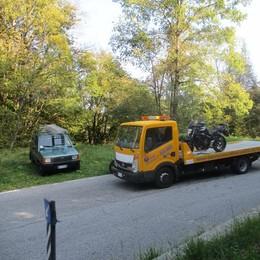 Scontro in Valle Intelvi Due motociclisti in ospedale