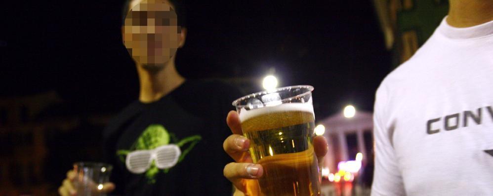 Como, troppo alcol il sabato sera  La Questura: «Più controlli»