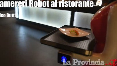Le cameriere robot di Cavallasca