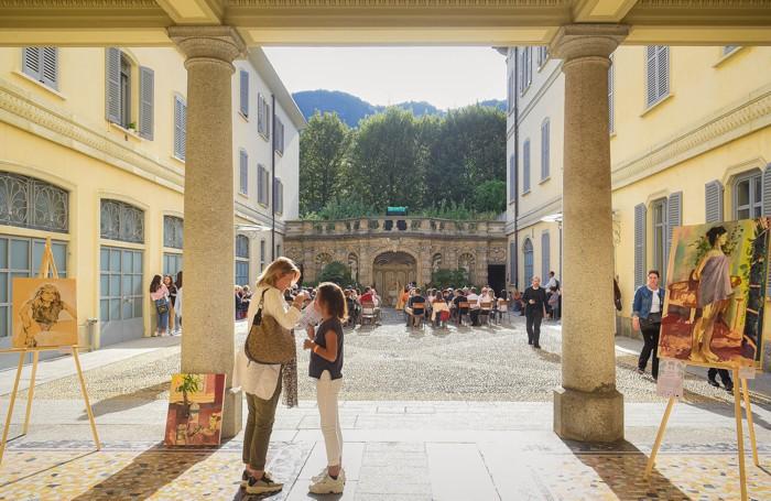 Como Bellezze Interiori cortili storici del centro storici aperti per le visite, palazzo Arturo Stucchi